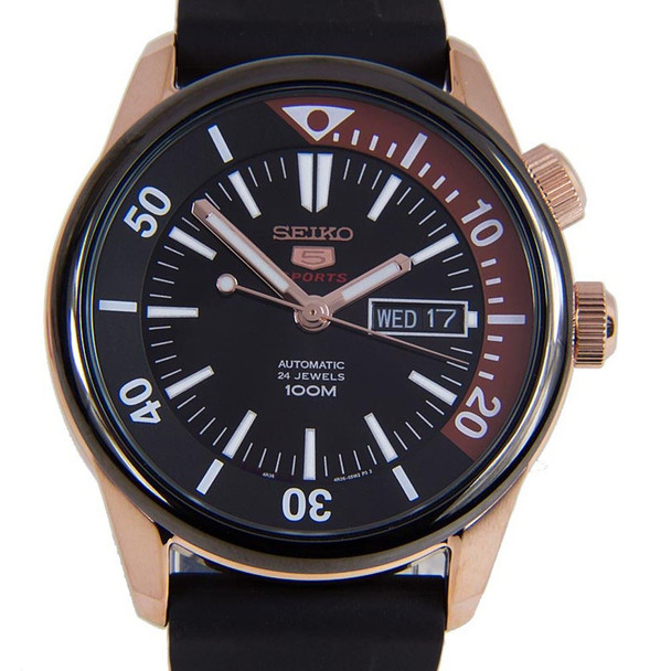 SEIKO 5 Sports Automatic SRPB32K1 with Leather Strap