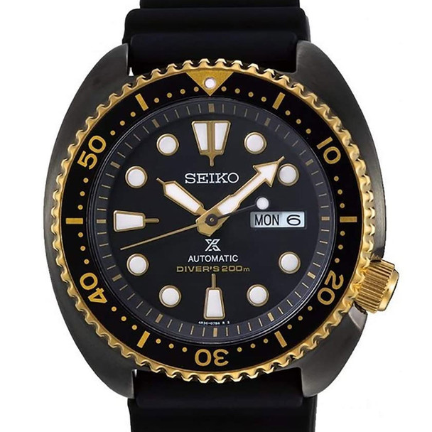 SRPD46K Seiko Prospex Black Gold Watch