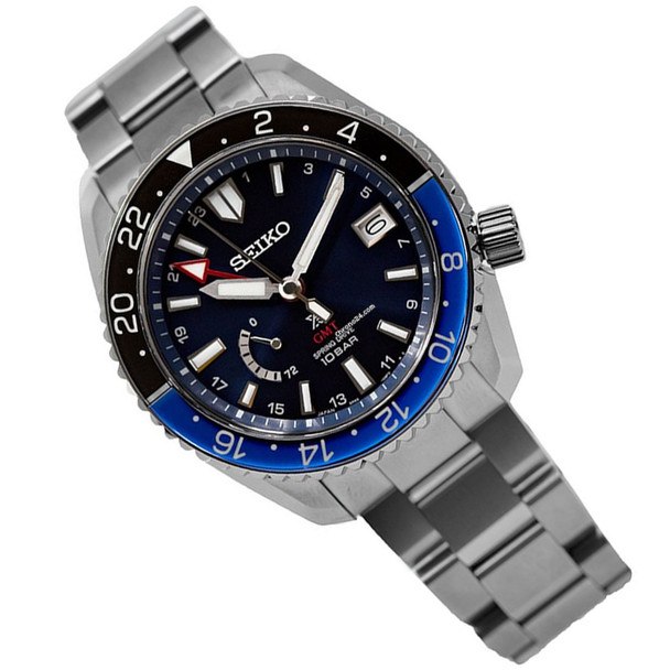 Seiko GMT Spring Drive Watch SBDB031