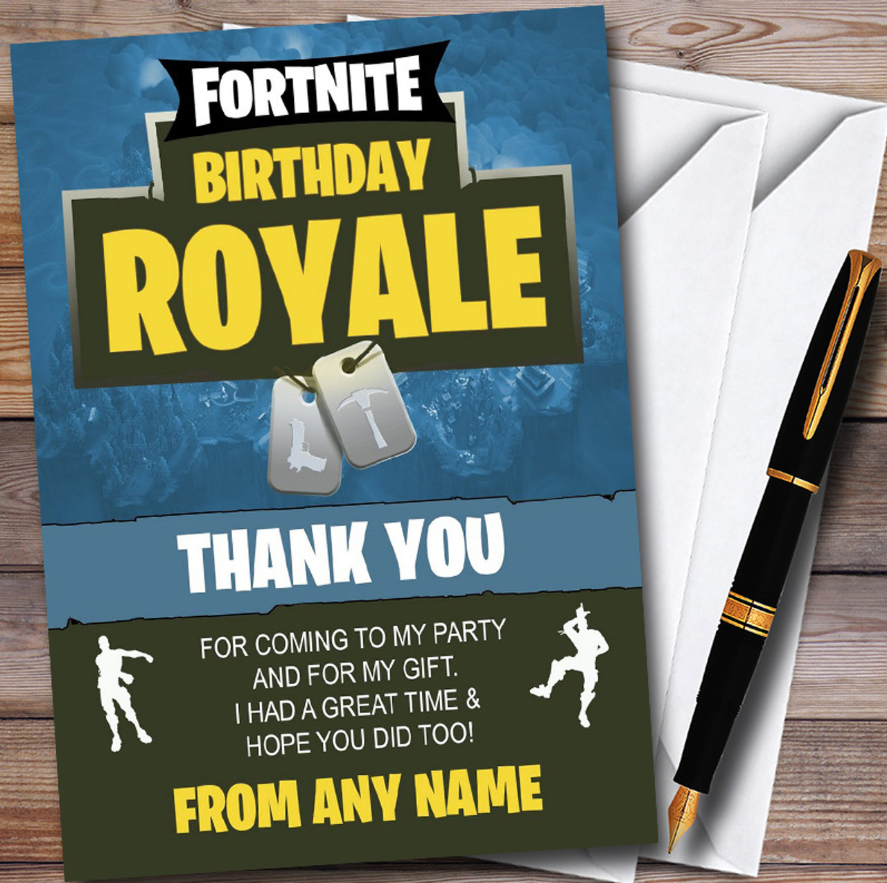 Fortnite Birthday Royale Personalized Children S Birthday