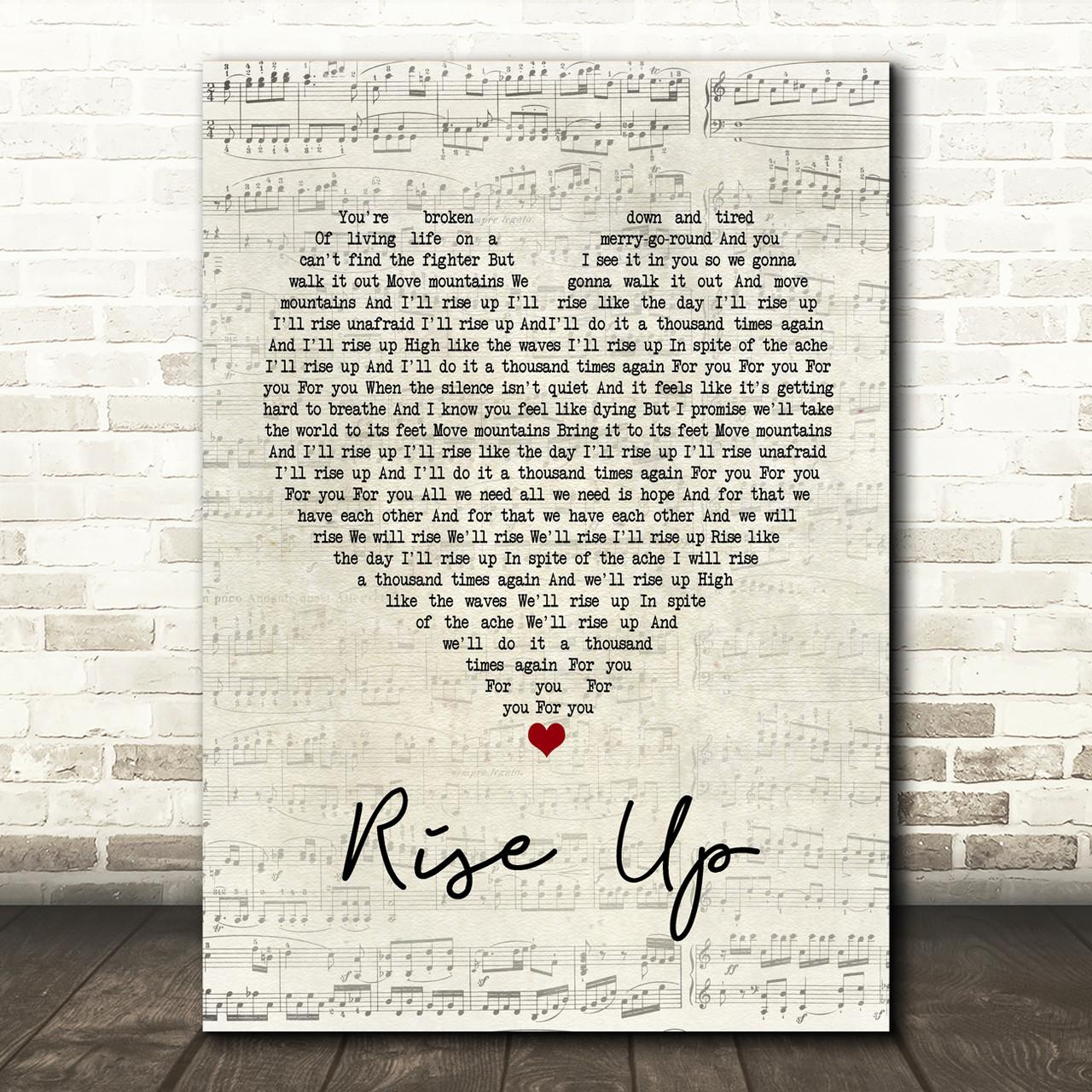 Rise Up Lyrics