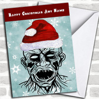 Michael Myers Halloween Personalised Christmas Card