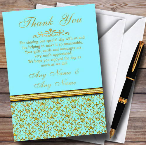 Personalized Wedding Stationery Wedding Thank You Cards Page 1