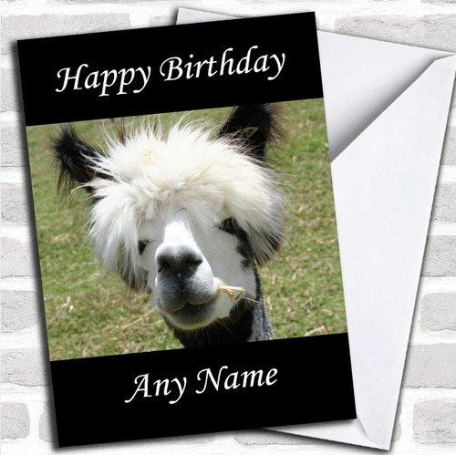 Googly Eyes Breasts Funny Personalised Birthday Greetings Card