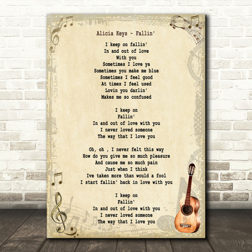 Love You Till The End Grey Heart Song Lyric Quote Print