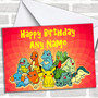 Red Pokemon Personalized Birthday Card