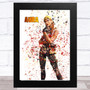 Splatter Art Gaming Fortnite Aura Kid's Room Children's Wall Art Print