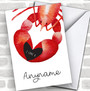 Lobster I Love You Personalized Valentine's Day Card