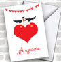 I Puffin Love You Personalized Valentine's Day Card