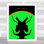 Ant Music Green Music Fan Song Lyric Wall Art Print
