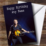 Personalized Bruce Springsteen Celebrity Birthday Card