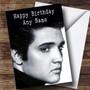Personalized Elvis Presley Celebrity Birthday Card
