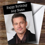 Personalized Brad Pitt Celebrity Birthday Card