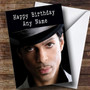 Personalized Prince Celebrity Birthday Card