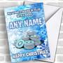 Funny Fortnite Vbucks Personalized Children's Christmas Card