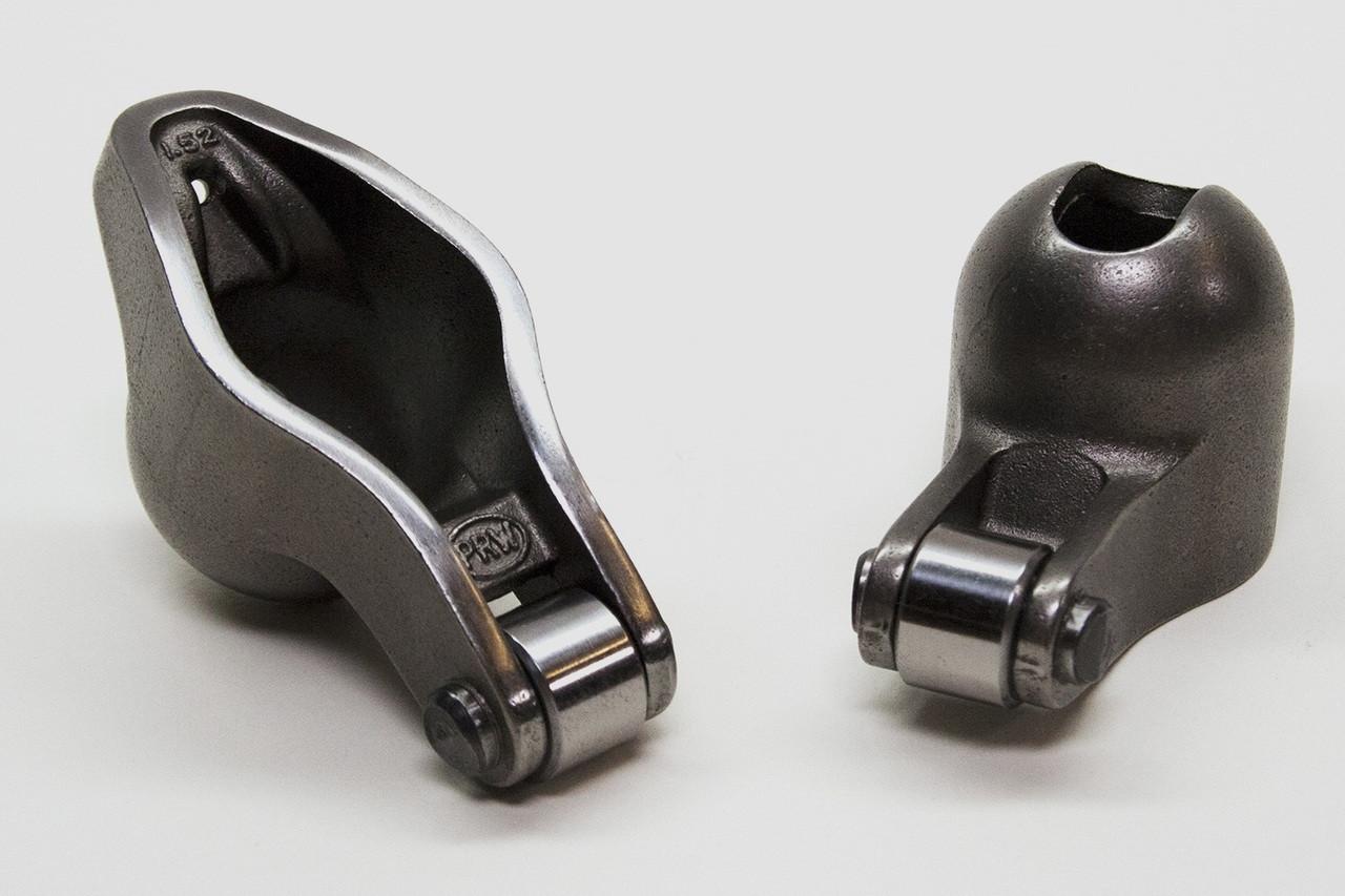 PRW 0835019 1.52 x 3//8 Sportsman Steel Roller Tip Self-Aligning Rocker Arm for Chevy 262-400 1987-00 Vortec