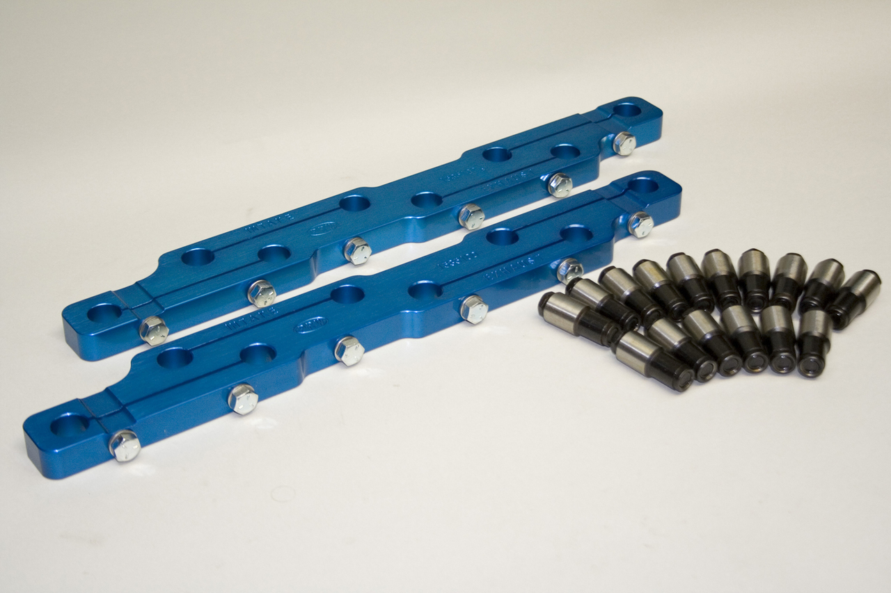 1535100 - Small Block Ford 351C, C-302B, A351W, B351W, Avenger XTC, AFD,  351W Boss Motorsport Aluminum Head, for 7/16 Studs
