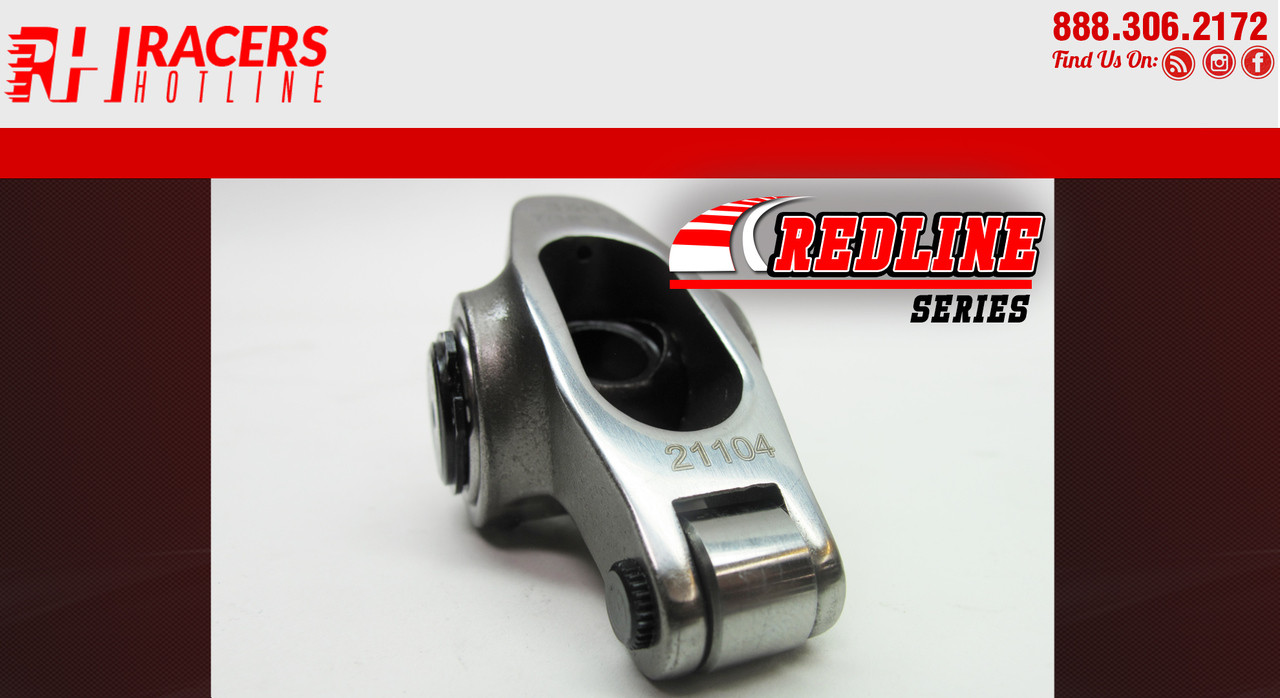 """Chevy SBC 350 1.6 7//16/"""" Stainless Steel Roller Rocker Arms"""