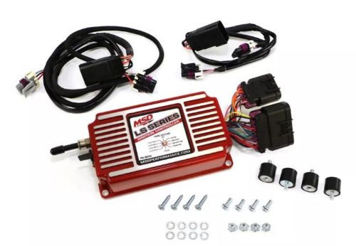 MSD 6014 GM Chevy LS LS6 Red Ignition Control Box Timing Rev Limiter LS1  LSX LS3