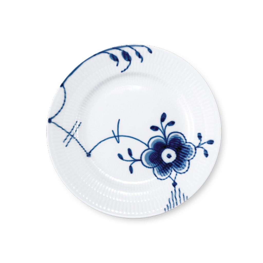 "Royal Copenhagen Blue Fluted Mega Bread and Butter Plate No. 6, 6.75"""