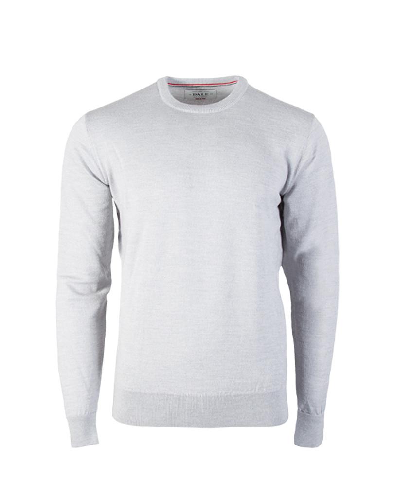 Dale of Norway, Magnus Sweater, Mens, in Light Grey Melange, 92402-E