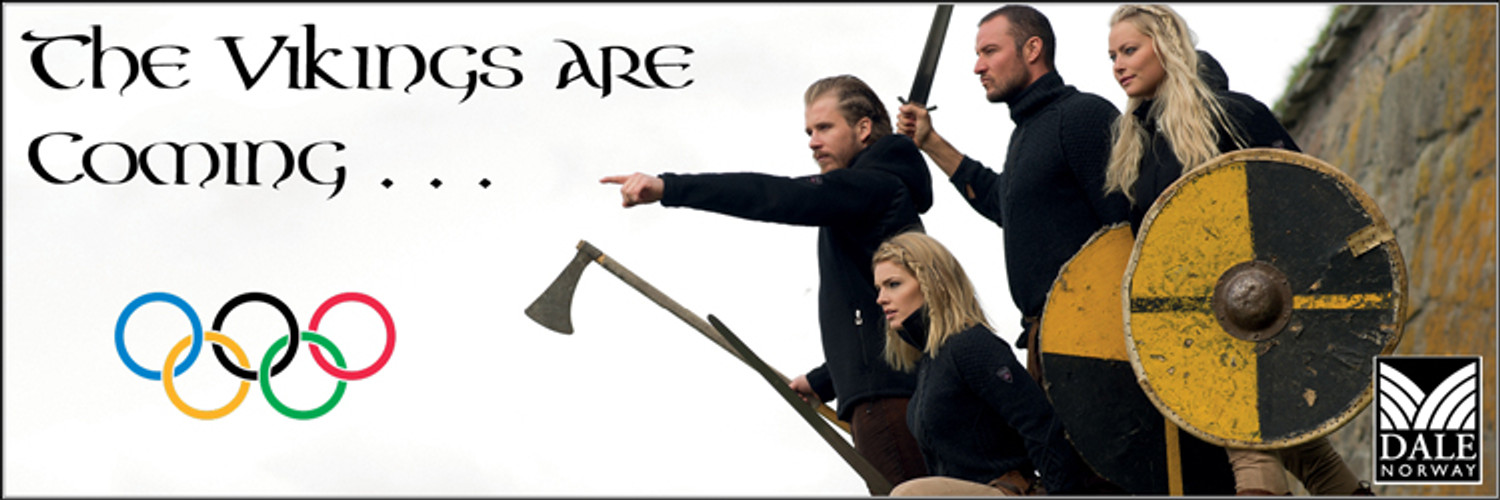 """Dale of Norway at the Olympics, Chapter 3, """"THE ATTACKING VIKINGS"""""""
