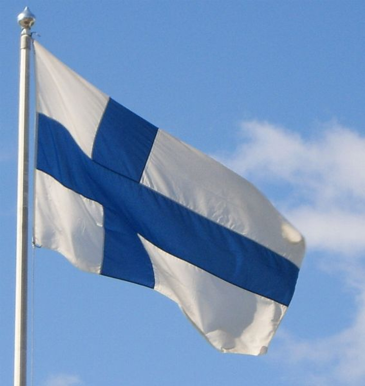 Finnish Flag, 2' x 3'