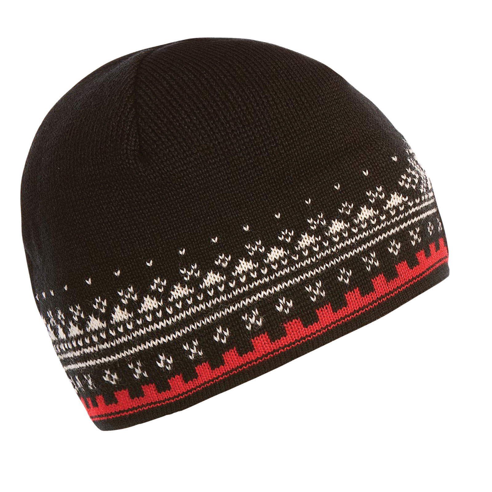 Dale of Norway 125th Anniversary Hat - Black/Raspberry/Off White, 47931-F