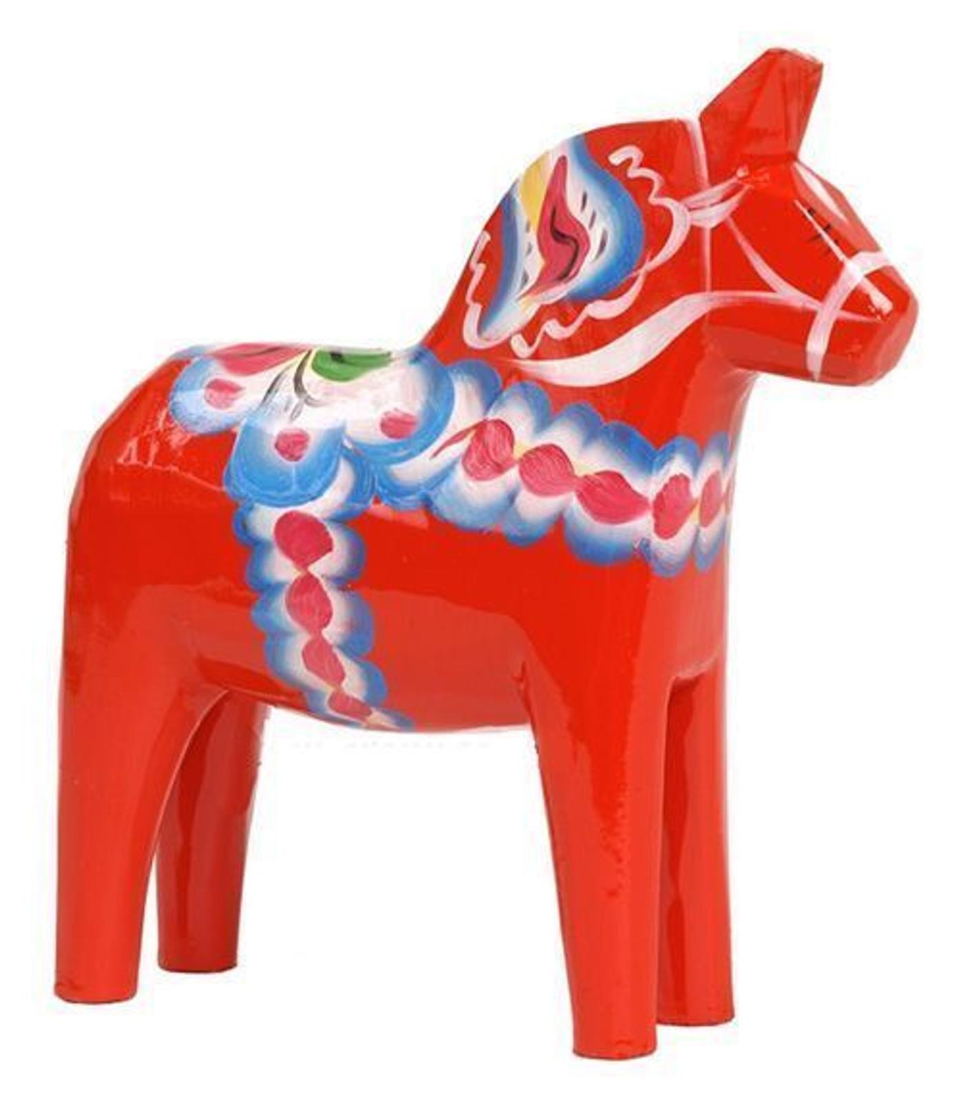 Authentic Swedish Dala Horse, 3 inches