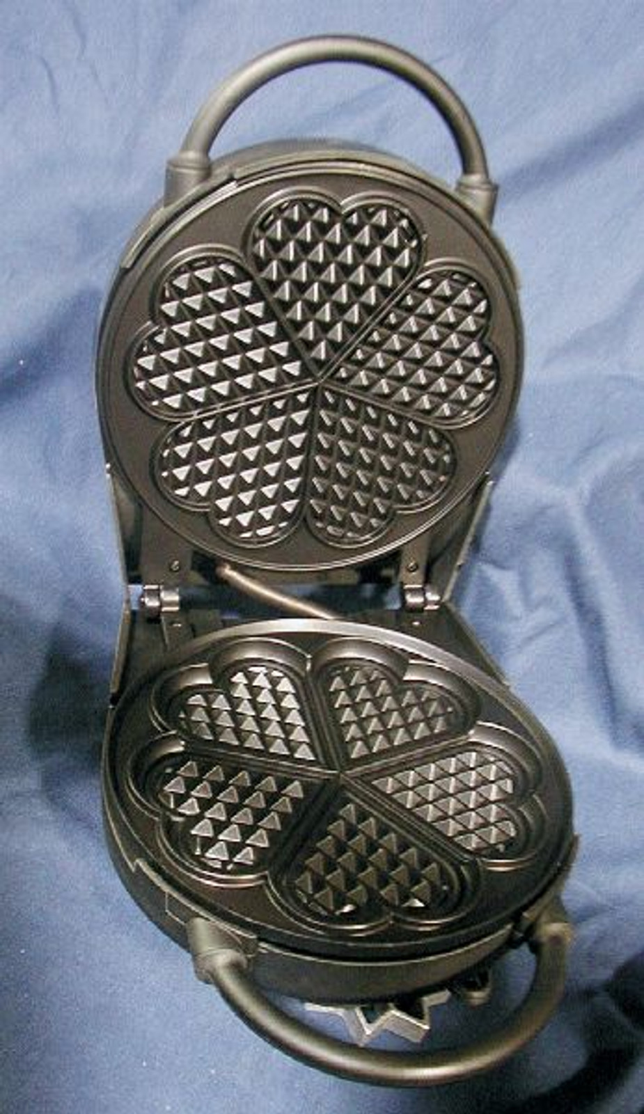Bethany Housewares Danish Heart Waffle Iron