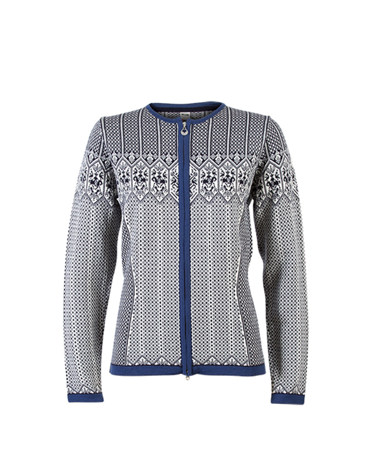 Dale of Norway, Sigrid cardigan, ladies, in Navy/Off White/Indigo, 82071-C, on sale at The Nordic Shop