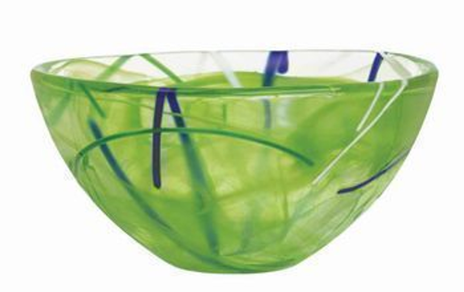 Kosta Boda Contrast Lime Bowl- Small
