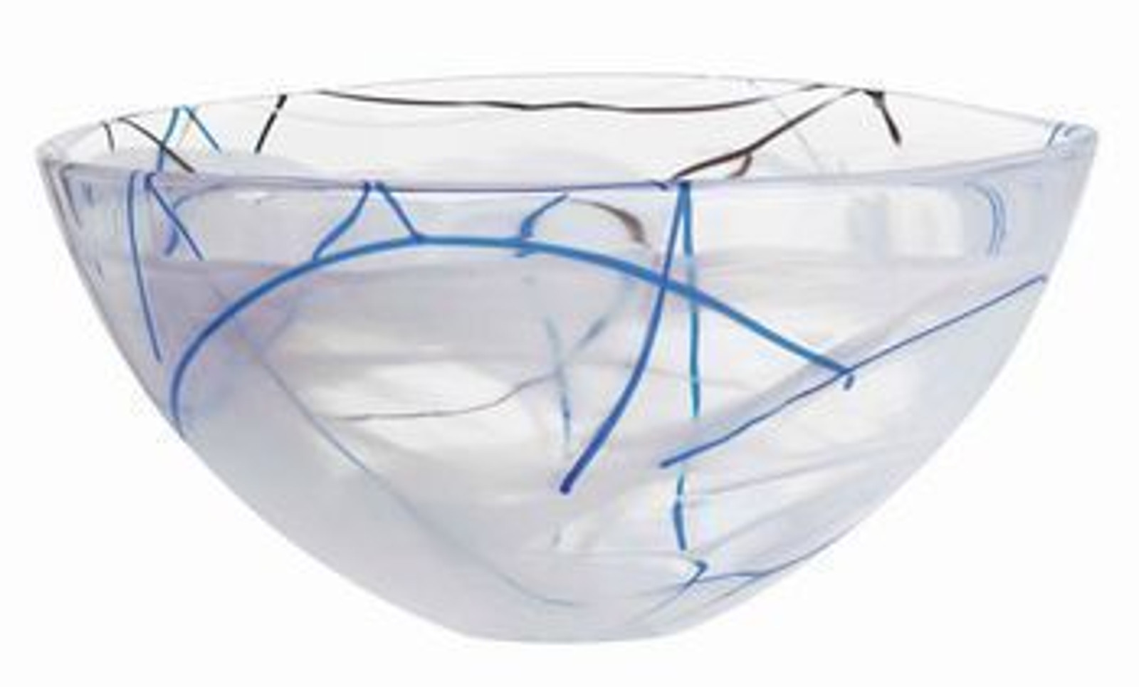 Contrast White Bowl- Large