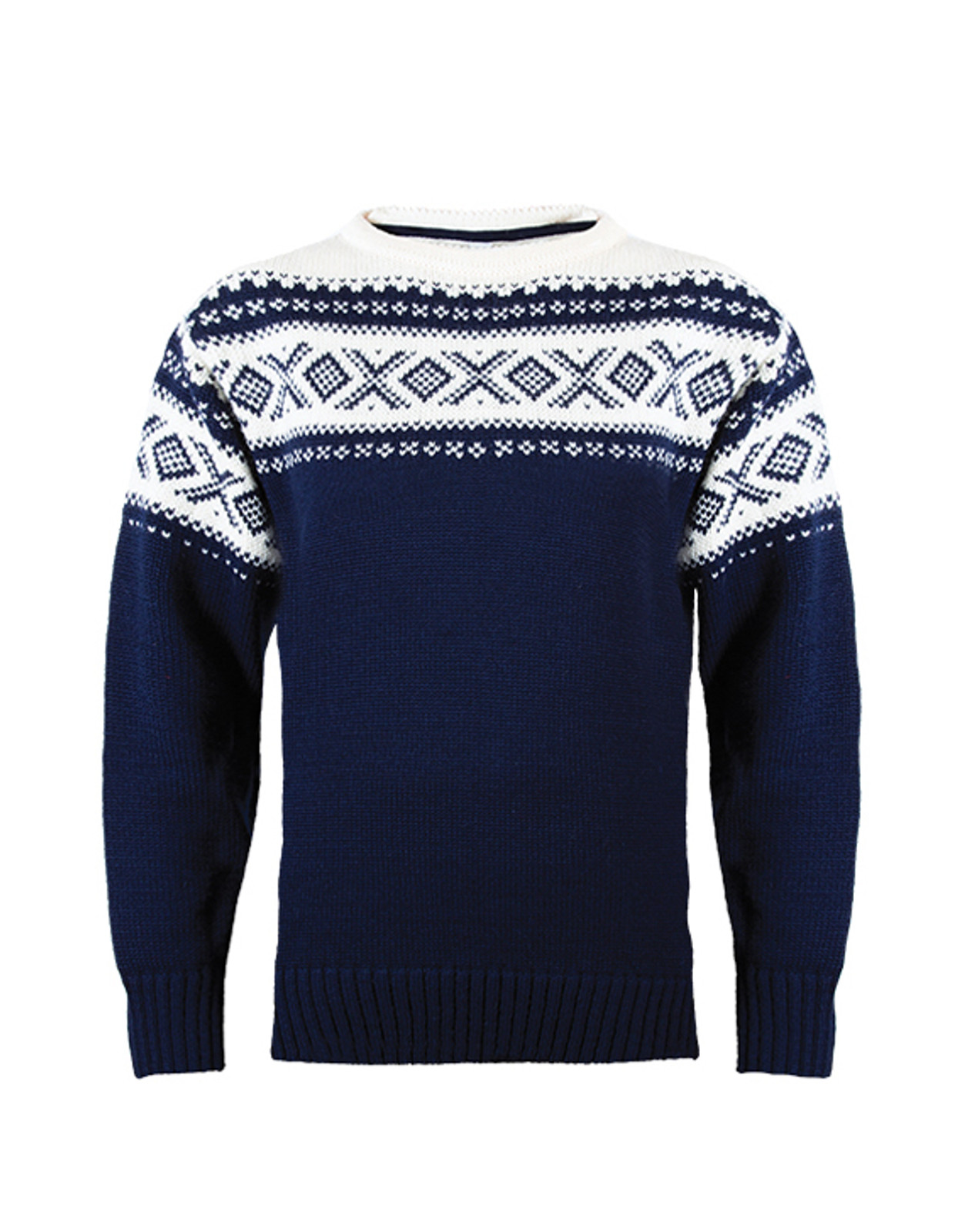 Dale of Norway, Cortina 1956 sweater, Unisex, in Navy/Off White, 92521-C