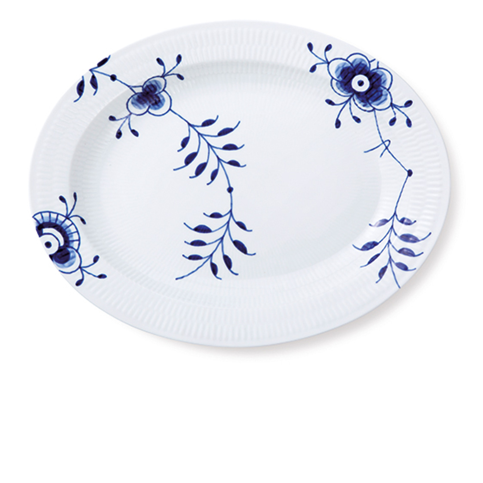 "Royal Copenhagen Large Oval Serving Platter, 14.25"""