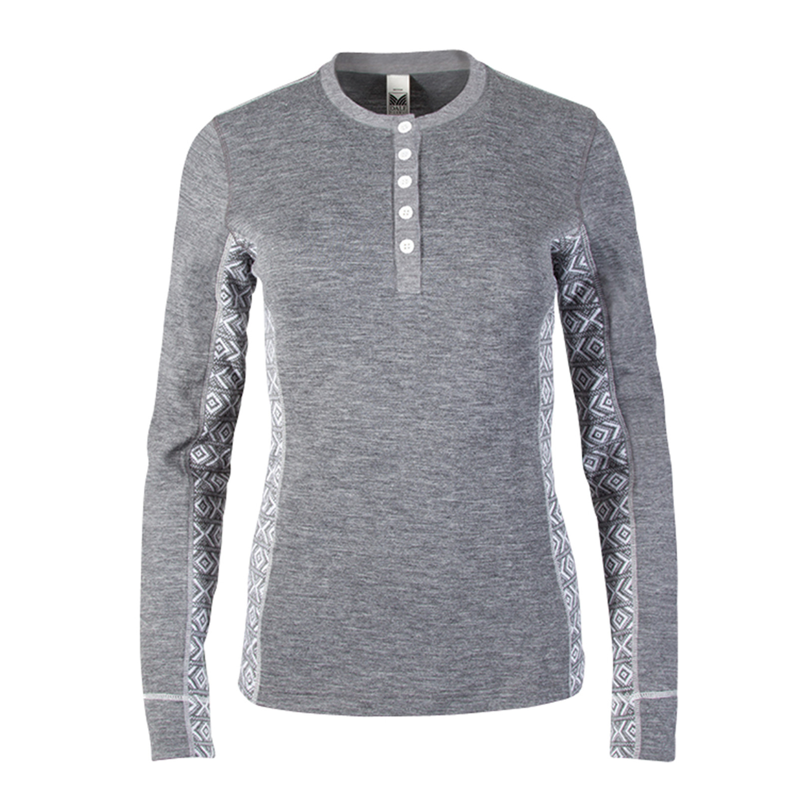 Dale of Norway, Bykle Shirting, Ladies, in Gray/White, 93201-E