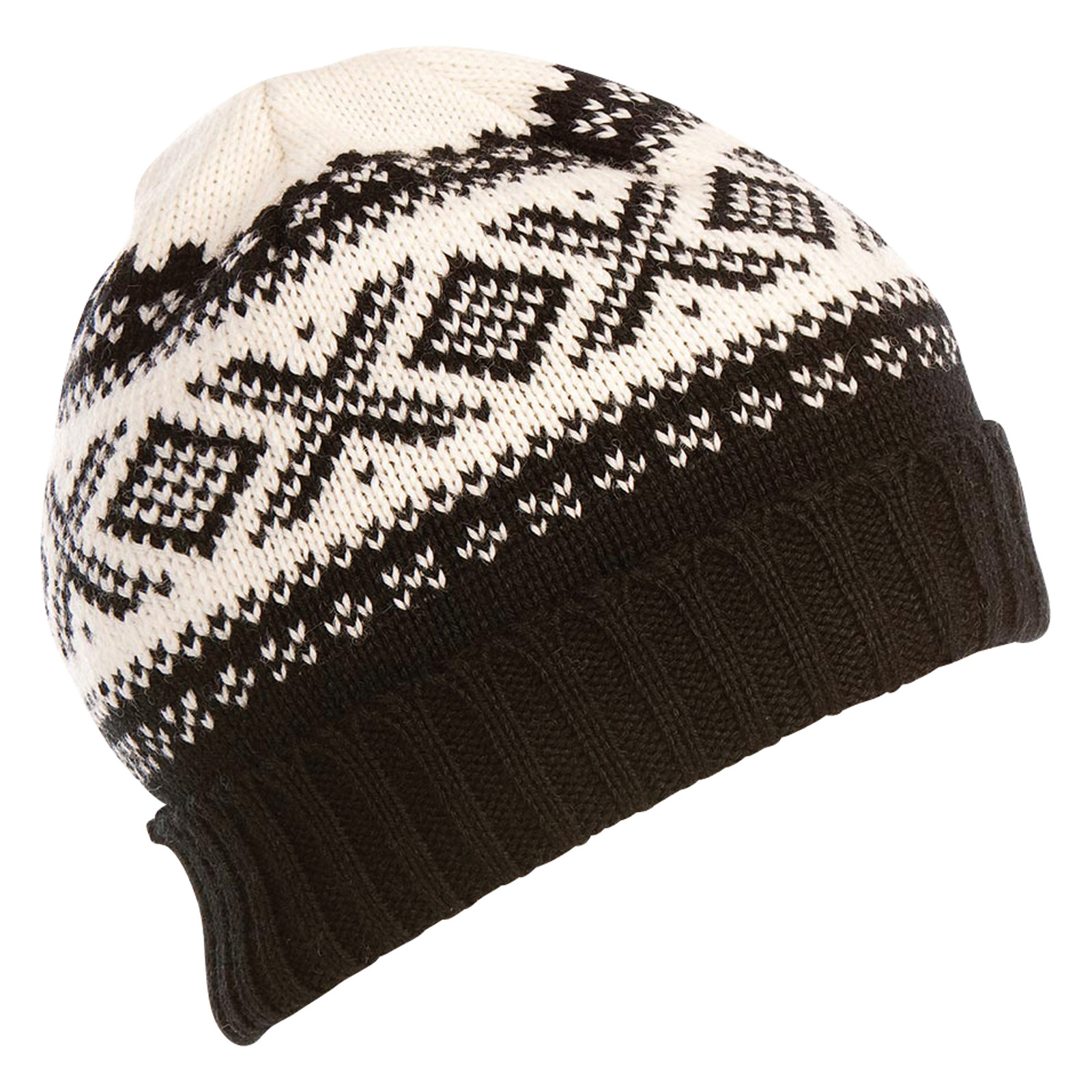 Dale of Norway, Cortina 1956 Unisex Hat in Black/Off White, 42261-F