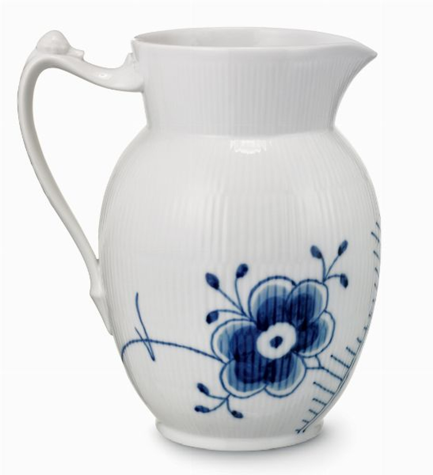 Royal Copenhagen Blue Fluted Mega Creamer Jug, 13 oz.