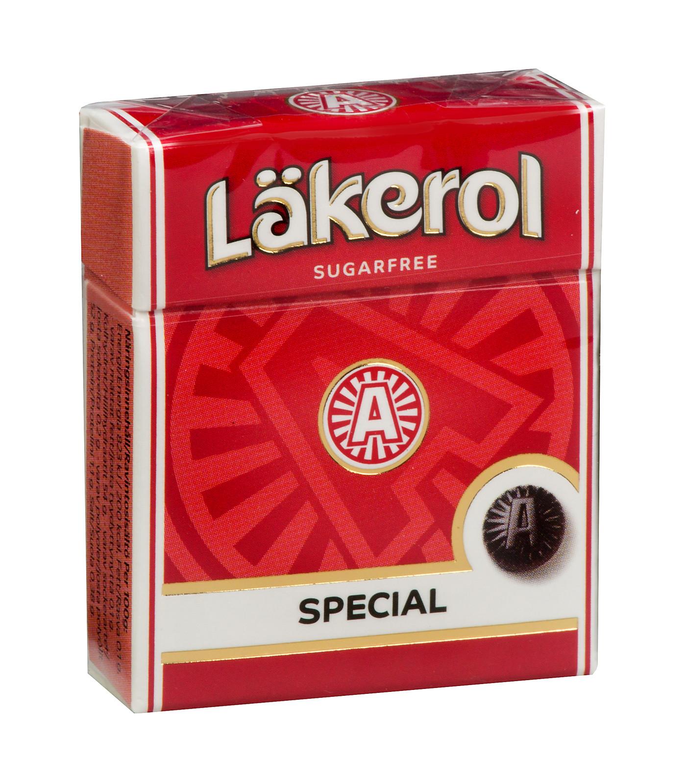 Lakerol Special Menthol Licorice Lozenges