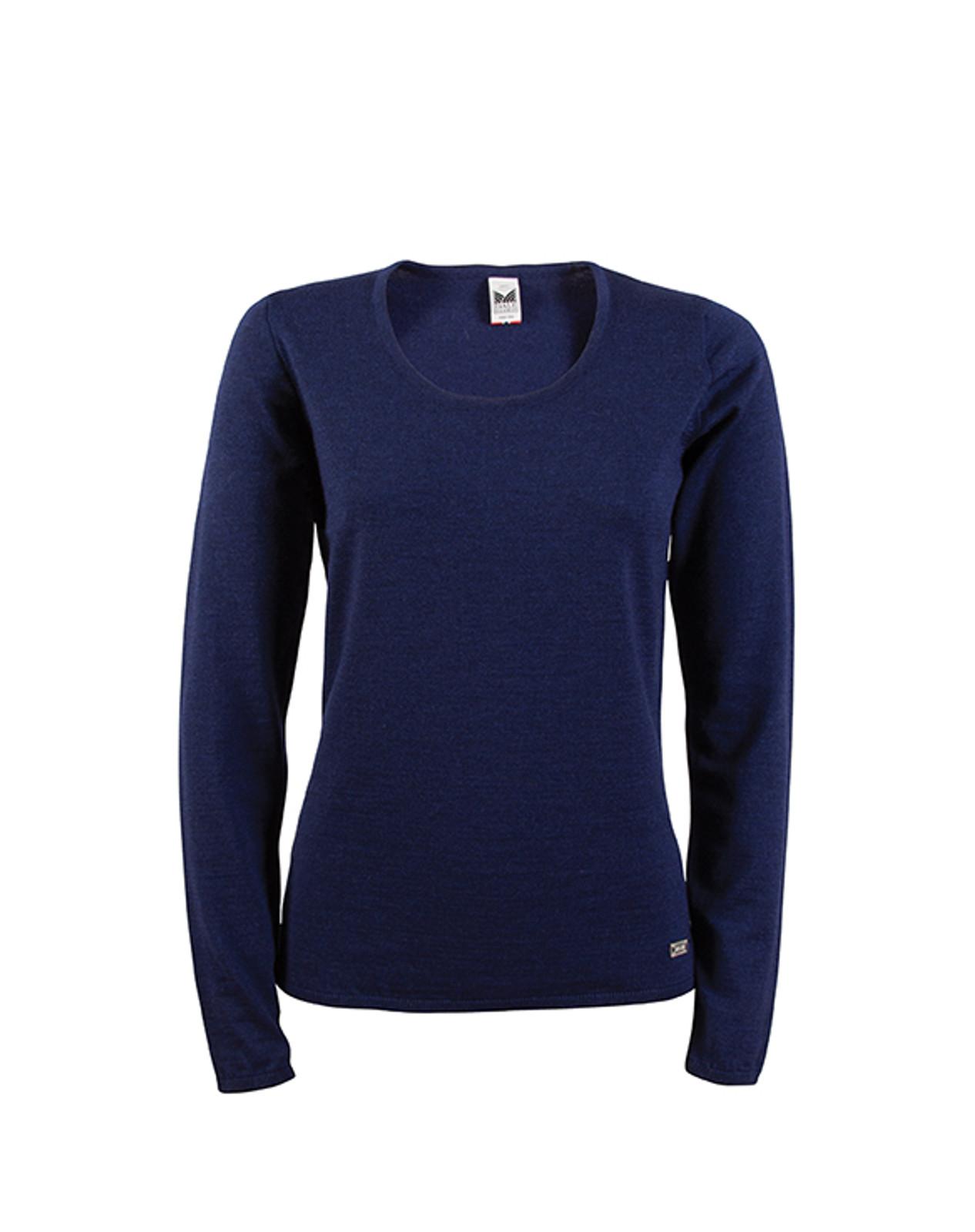 Dale of Norway, Astrid ladies sweater in Navy Mel, 92432-C