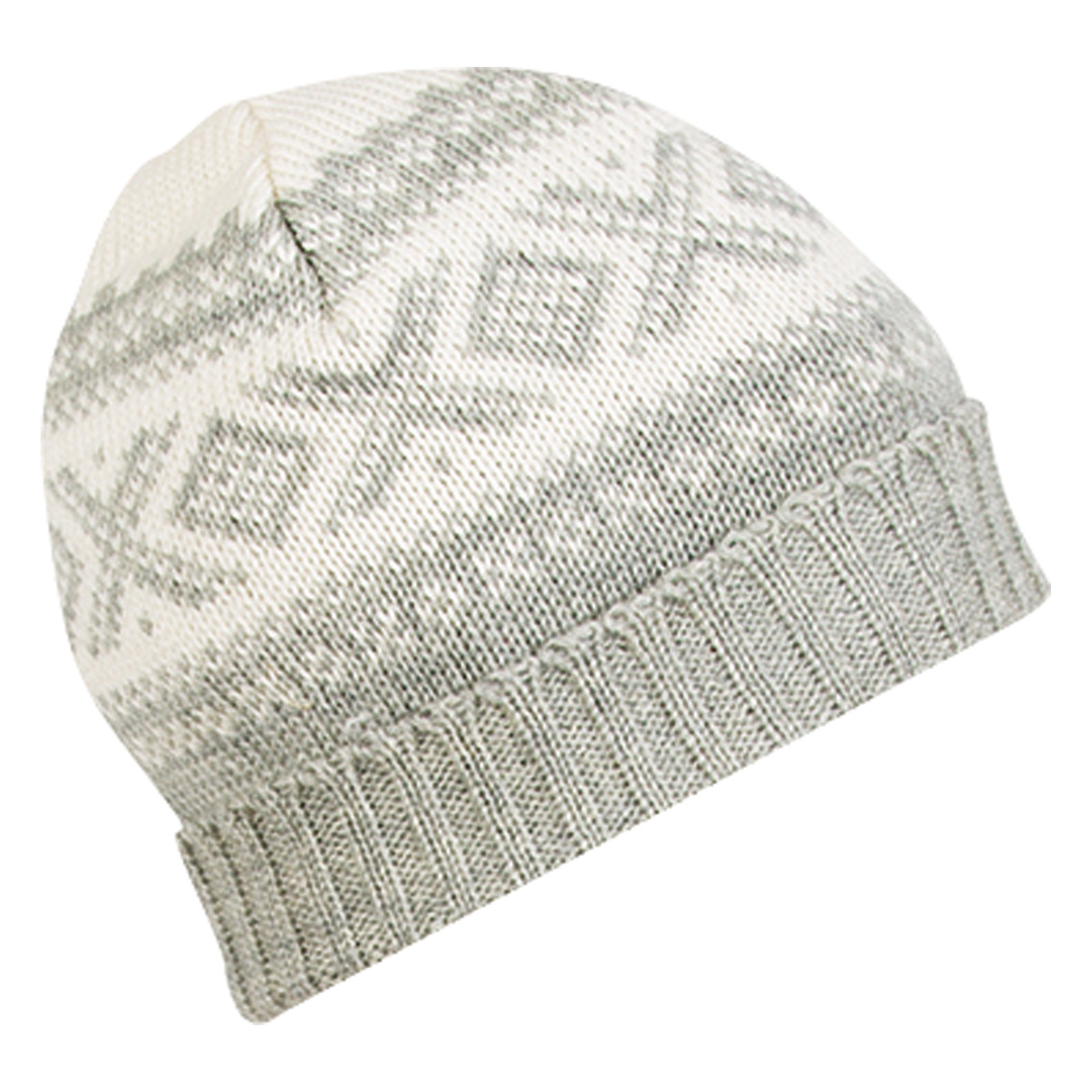 Dale of Norway Cortina Unisex Hat in Off White/Light Charcoal, 42261-E