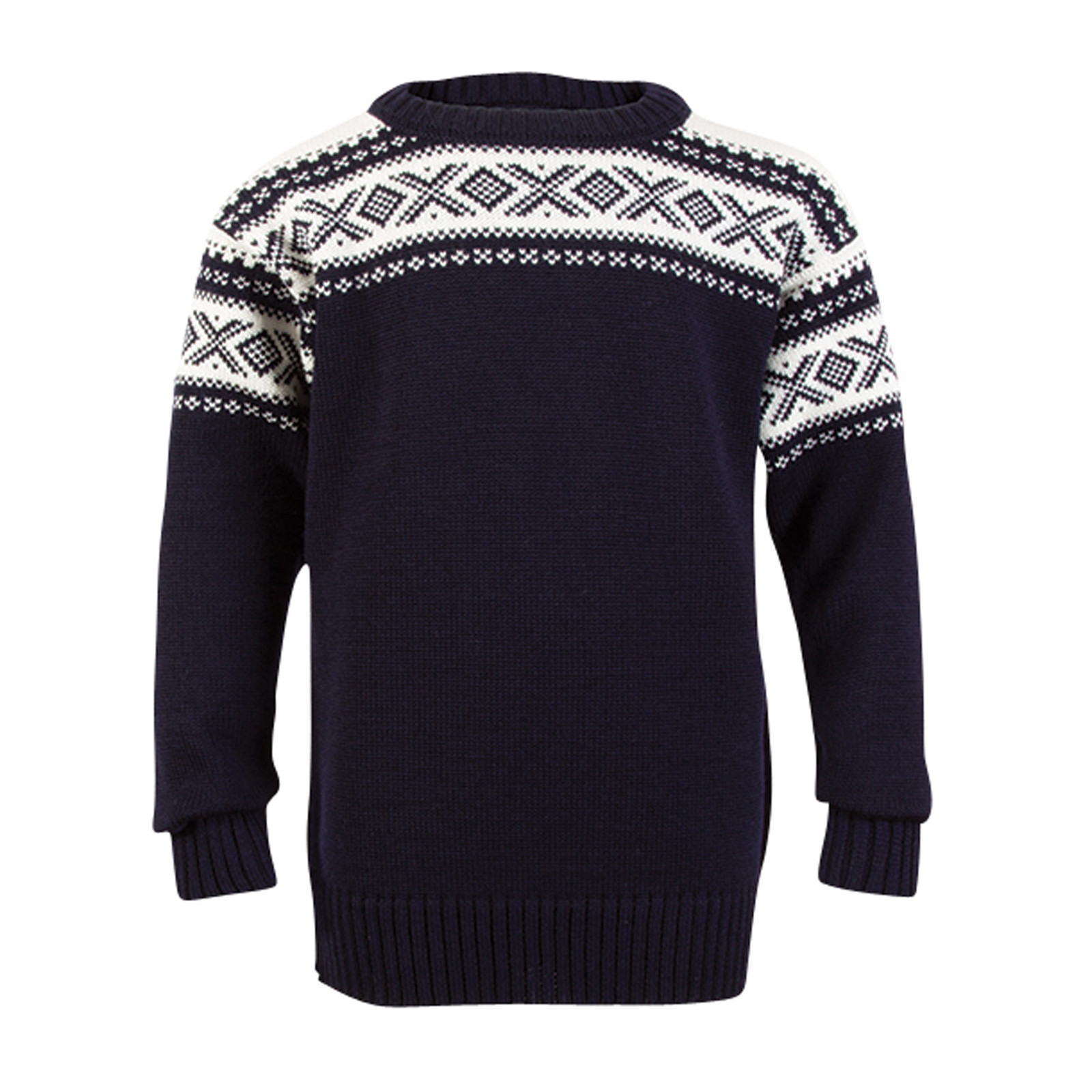 Dale of Norway, Cortina childrens sweater in Navy/Off White, 92991-C