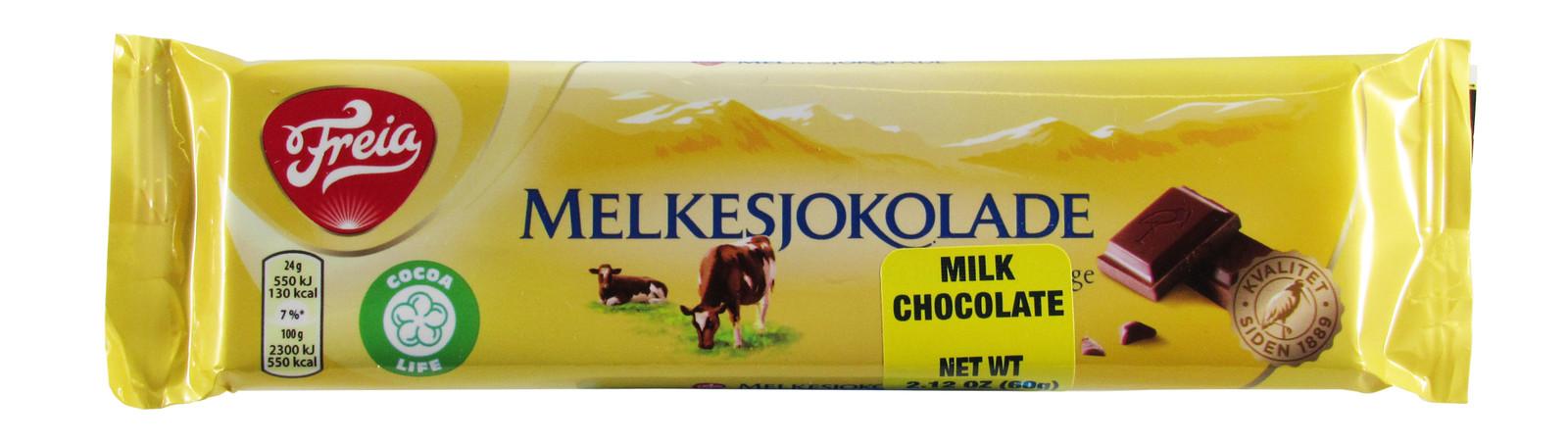 Imported Freia Milk Chocolate Bar