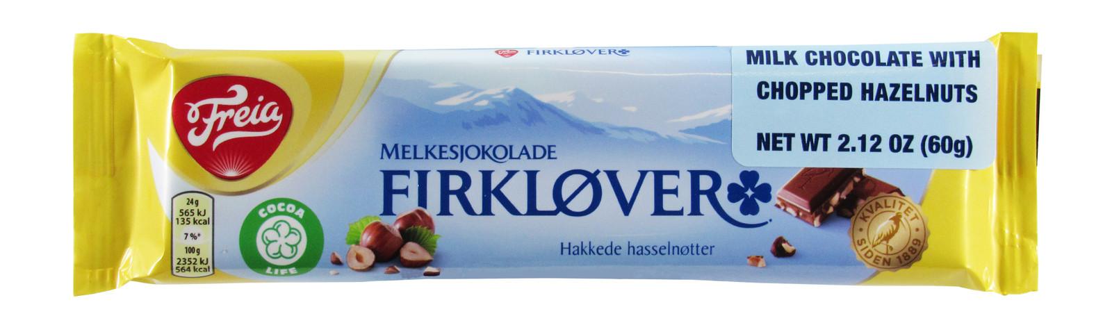 Imported Freia Milk Chocolate Bar with Hazelnuts