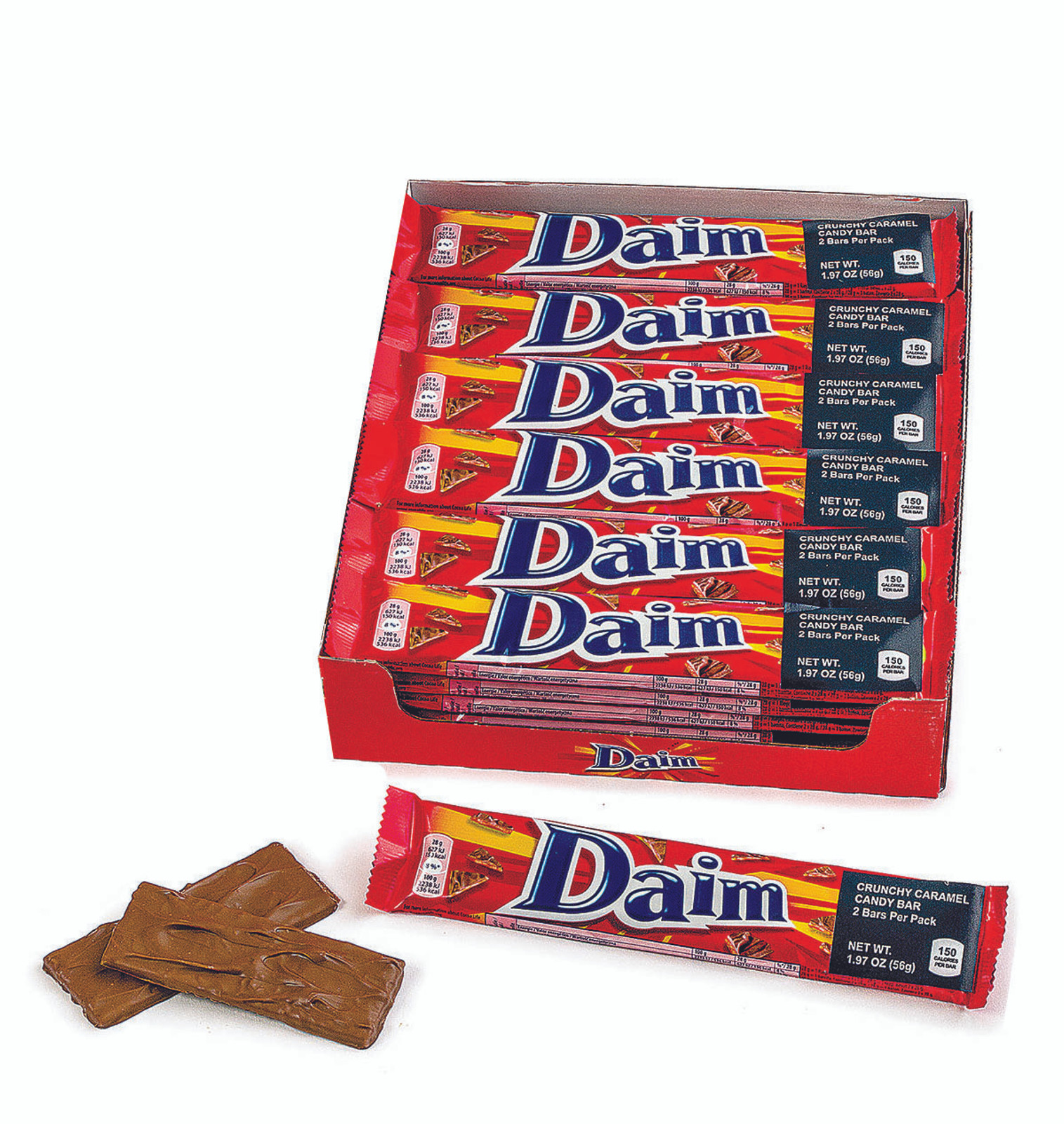 Imported Swedish Daim Bar