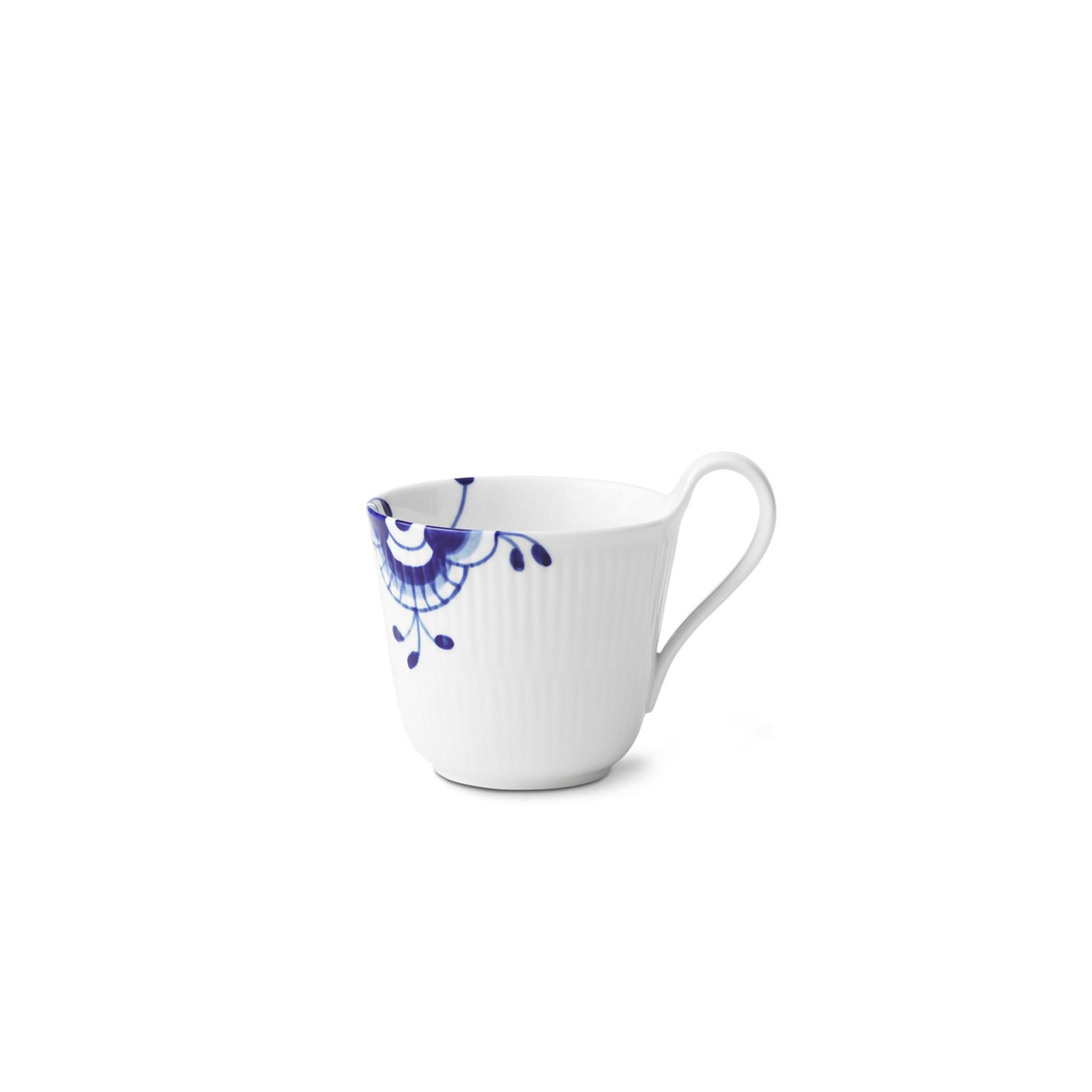 Royal Copenhagen, Blue Fluted Mega High Handle Mug, 11 oz.