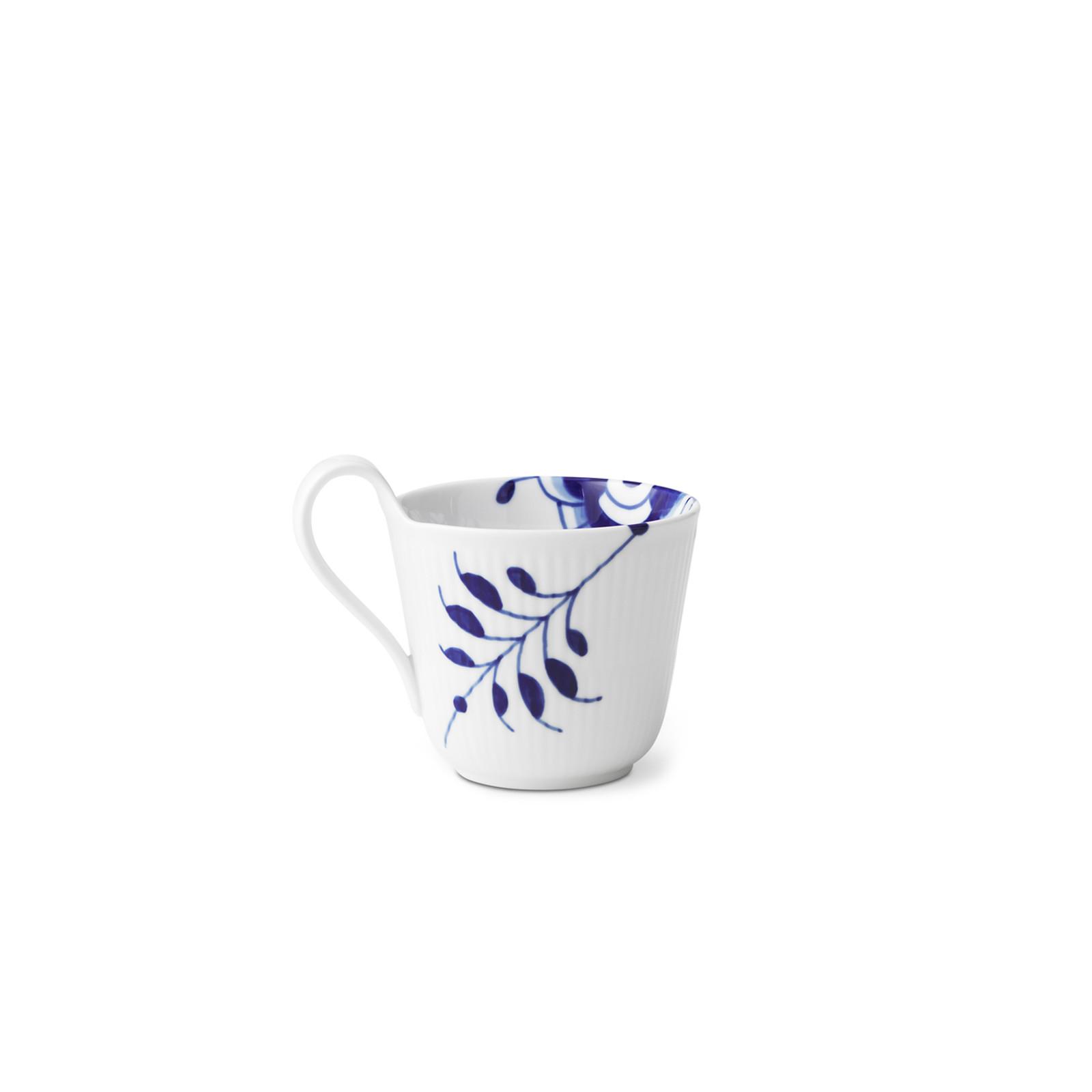 Royal Copenhagen, Blue Fluted Mega High Handle Mug, 11 oz., alternate view
