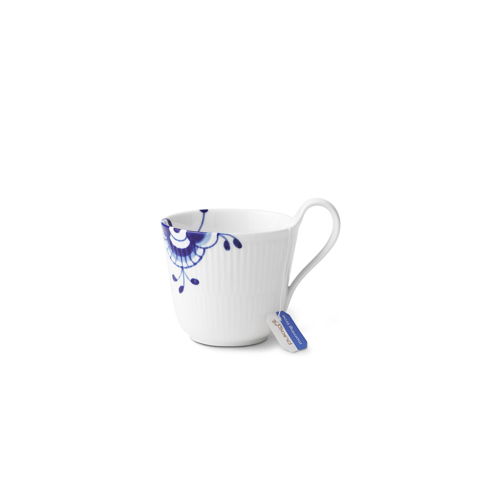 Royal Copenhagen, Blue Fluted Mega High Handle Mug, 11 oz., another alternate view
