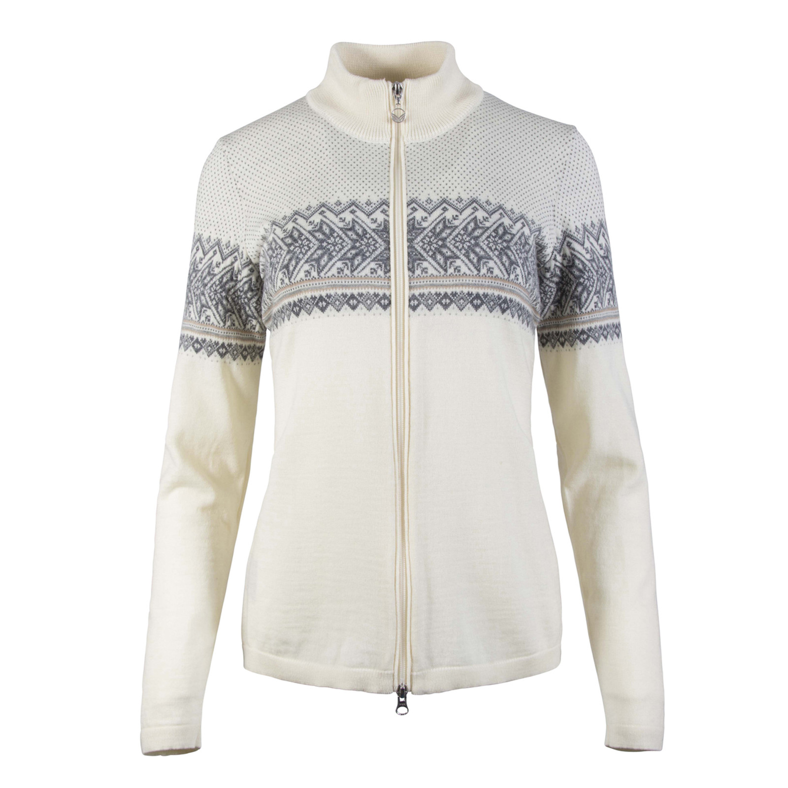 Dale of Norway, Hovden  cardigan, ladies, in Off White/Light Charcoal/Smoke/Beige-83201-A, on sale at The Nordic Shop