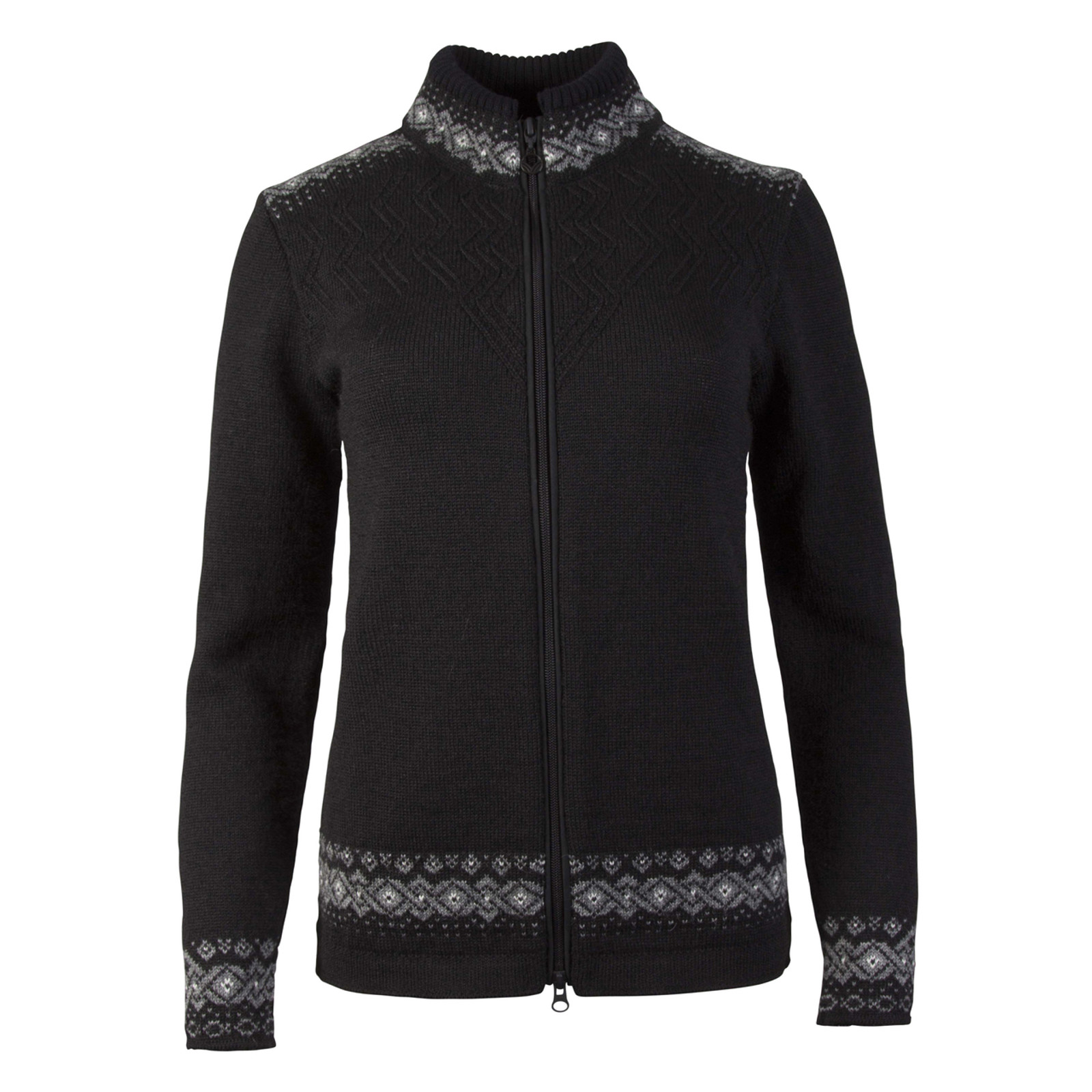 Dale of Norway Bergen  cardigan, ladies, Black/Smoke/Off White, 83181-F, on sale at The Nordic Shop